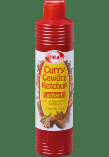 Hela Curryketchup scharf
