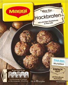 Maggi Hackbraten