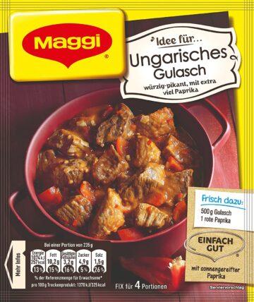 Maggi Ungarisches Gulasch